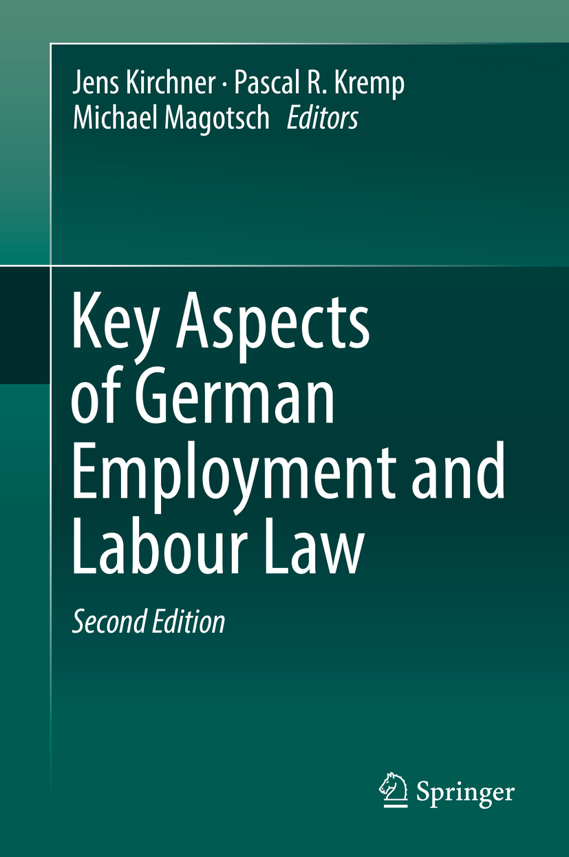 Kirchner, Jens - Key Aspects of German Employment and Labour Law, e-bok