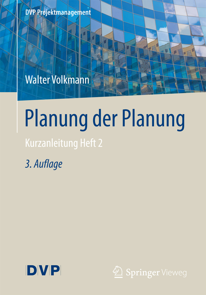 Volkmann, Walter - Planung der Planung, e-kirja