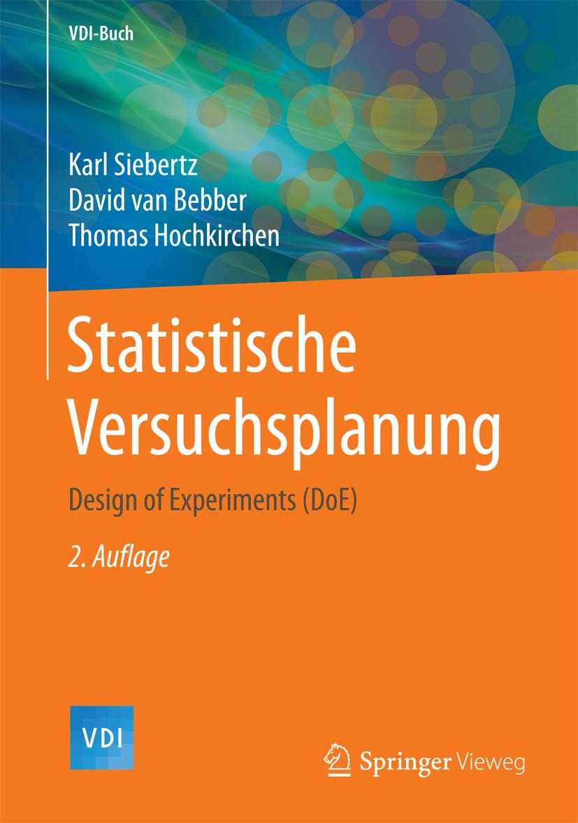 Bebber, David van - Statistische Versuchsplanung, ebook