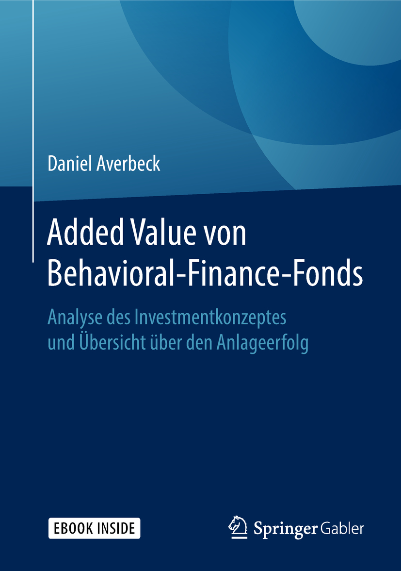 Averbeck, Daniel - Added Value von Behavioral-Finance-Fonds, ebook