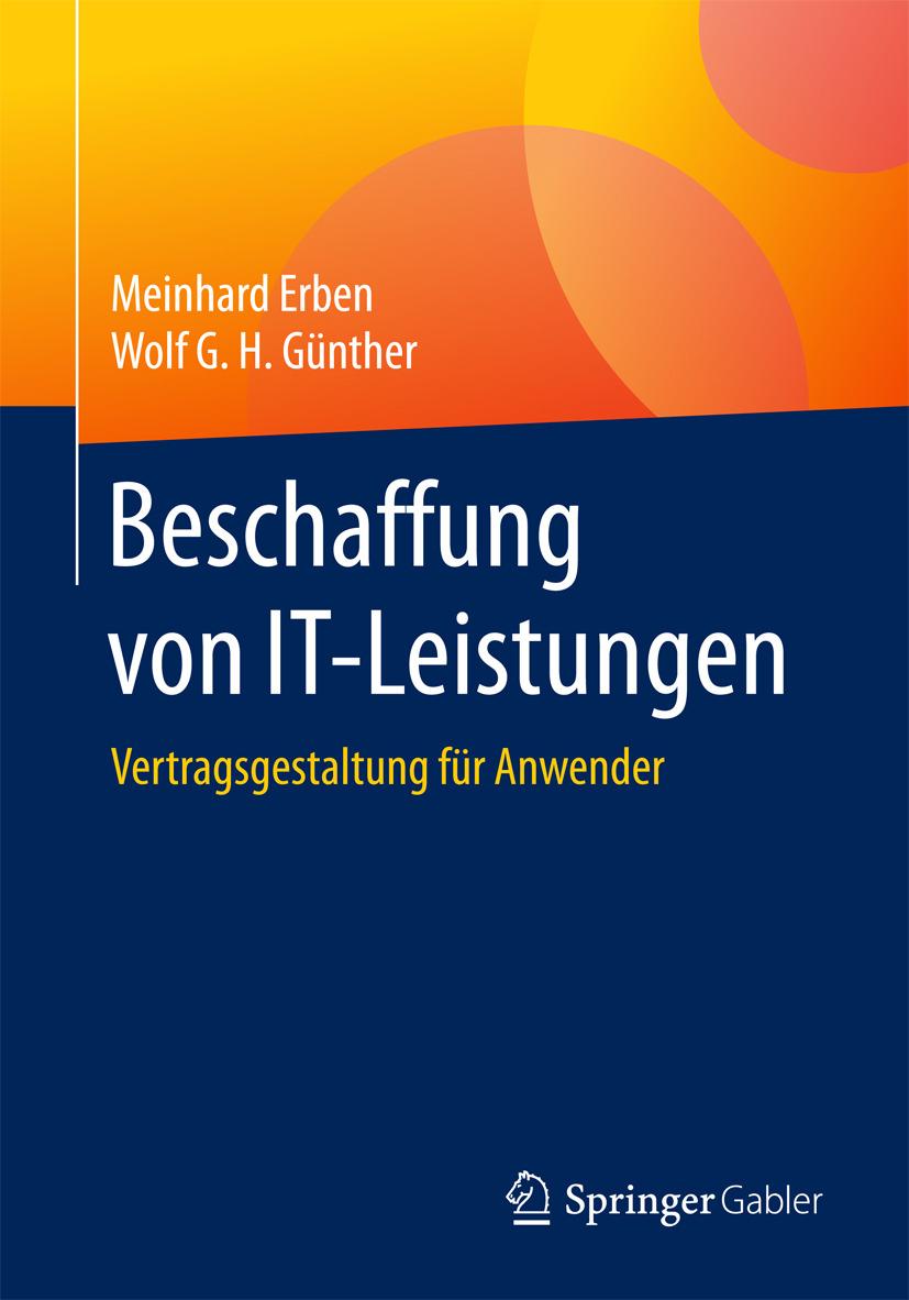 Erben, Meinhard - Beschaffung von IT-Leistungen, ebook