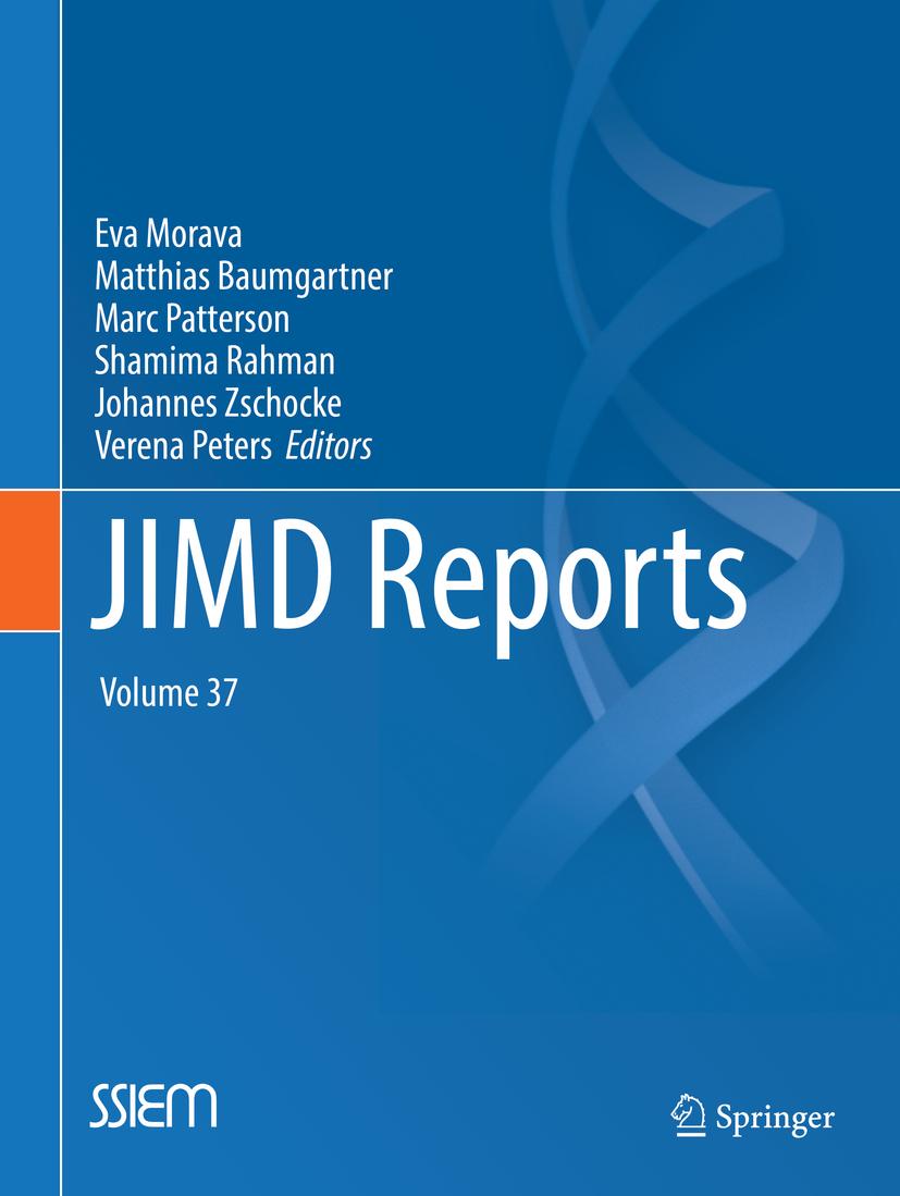 Baumgartner, Matthias - JIMD Reports, Volume 37, ebook