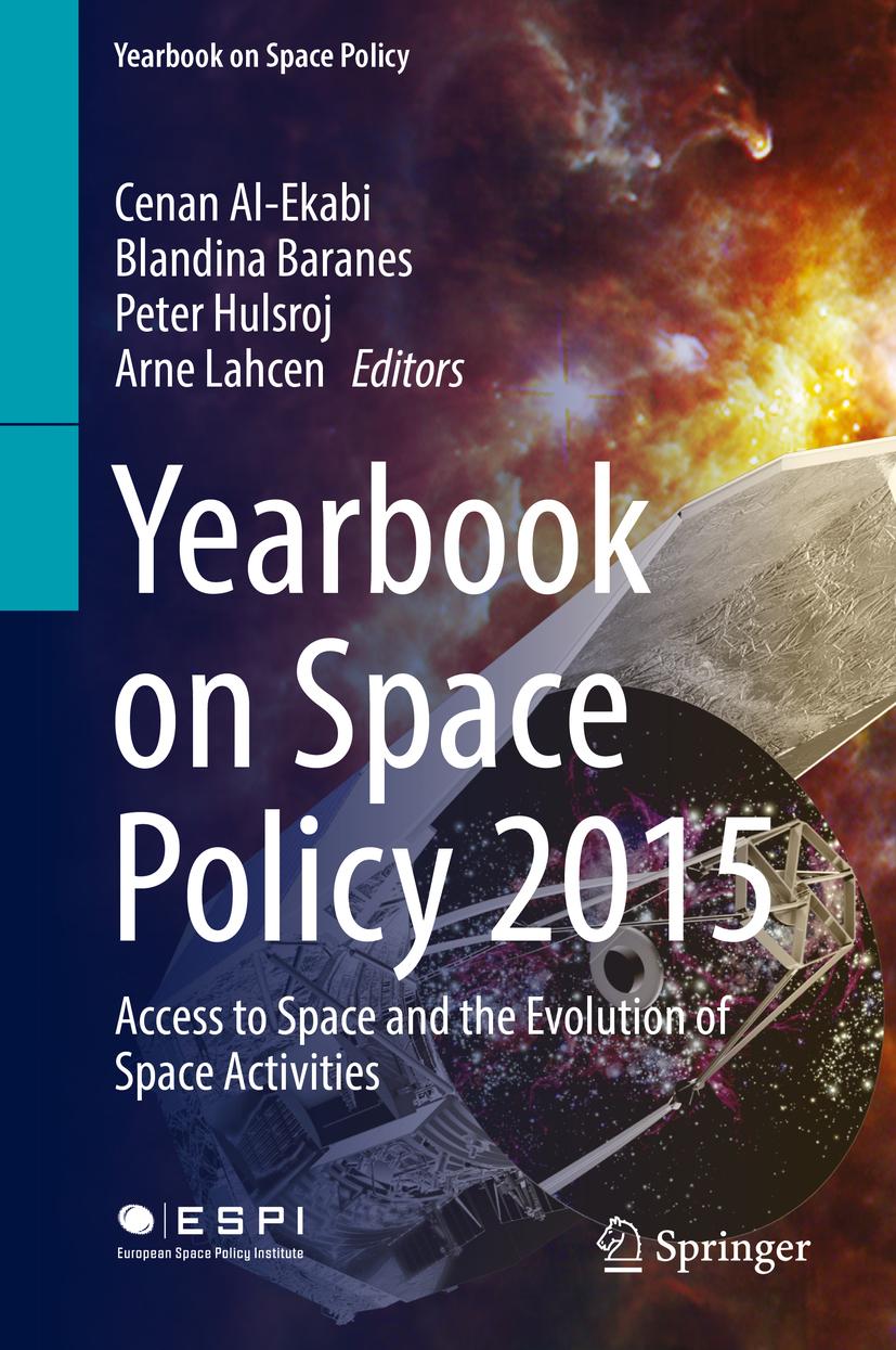 Al-Ekabi, Cenan - Yearbook on Space Policy 2015, ebook