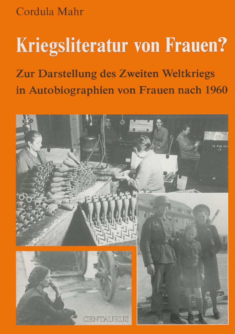 Mahr, Cordula - Kriegsliteratur von Frauen?, ebook
