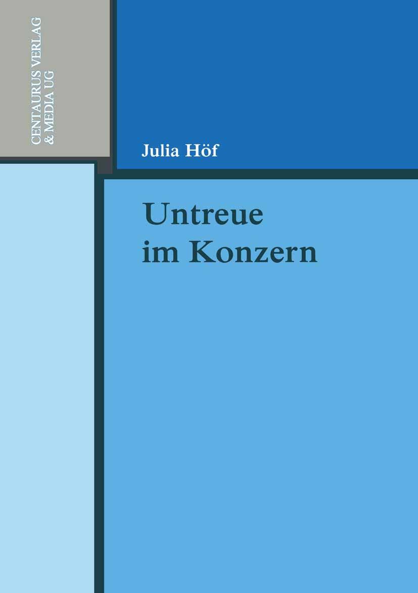 Höf, Julia - Untreue im Konzern, ebook