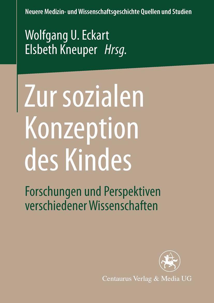 Eckart, Wolfgang U. - Zur sozialen Konzeption des Kindes, ebook