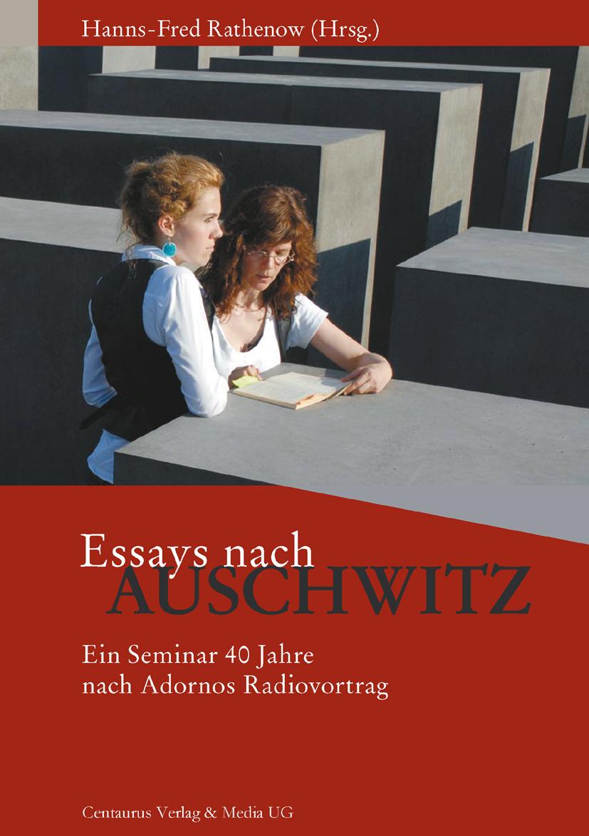 Rathenow, Hanns-Fred - Essays nach Auschwitz, ebook