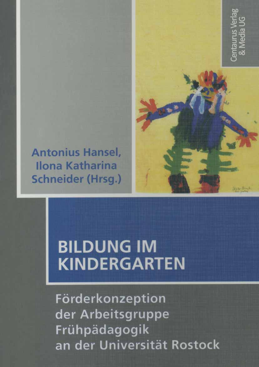Hansel, Antonius - Bildung im Kindergarten, ebook