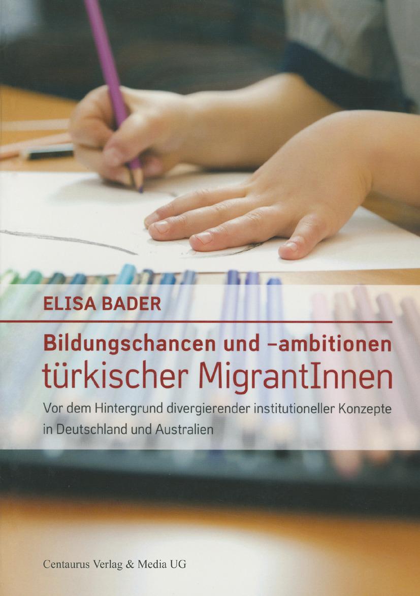 Bader, Elisa - Bildungschancen und -ambitionen türkischer MigrantInnen, ebook