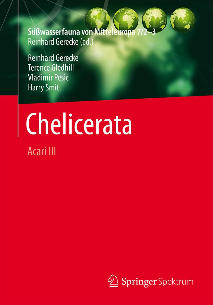 Gerecke, Reinhard - Süßwasserfauna von Mitteleuropa, Bd. 7/2-3 Chelicerata, ebook