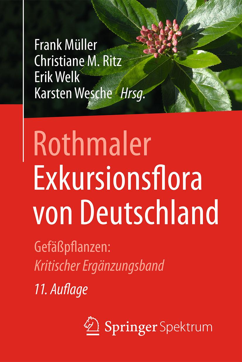 Müller, Frank - Rothmaler - Exkursionsflora von Deutschland, ebook
