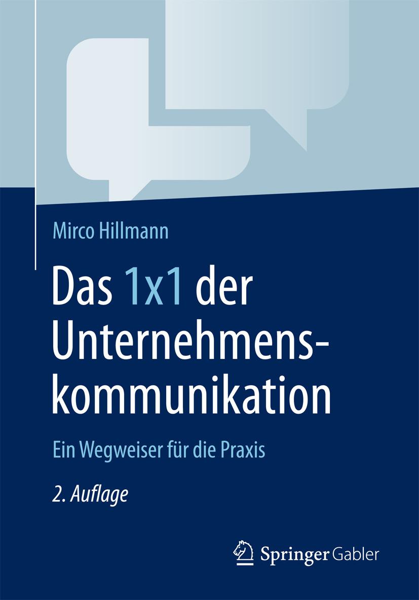 Hillmann, Mirco - Das 1x1 der Unternehmenskommunikation, ebook