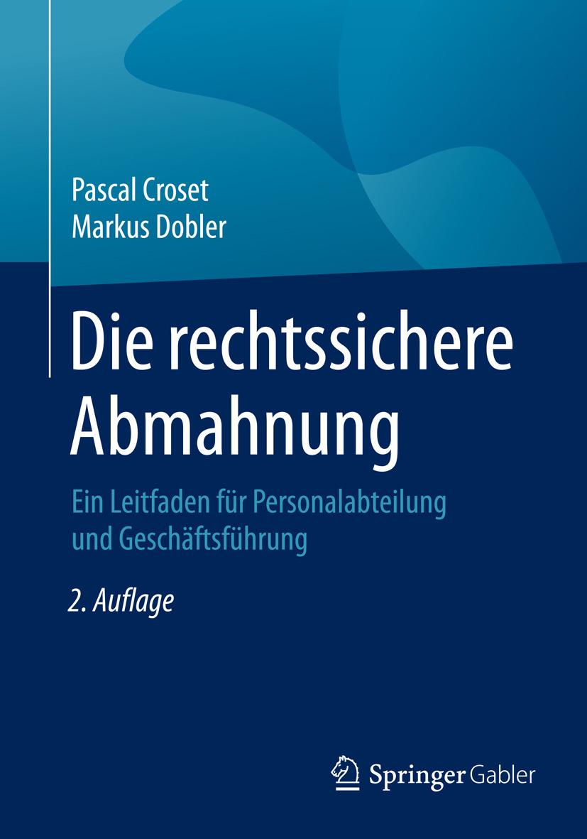 Croset, Pascal - Die rechtssichere Abmahnung, ebook