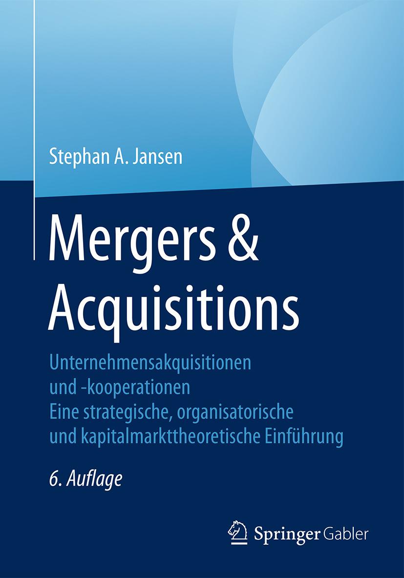 Jansen, Stephan A. - Mergers & Acquisitions, ebook