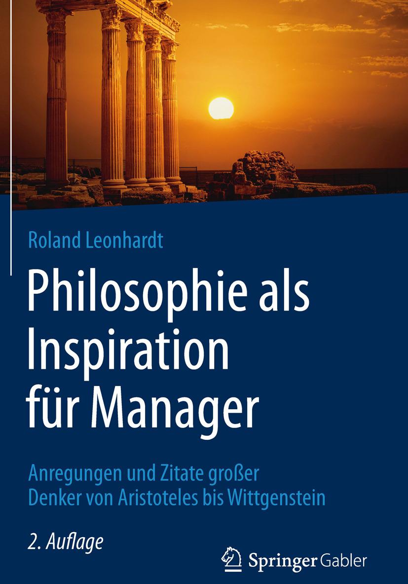 Leonhardt, Roland - Philosophie als Inspiration für Manager, ebook