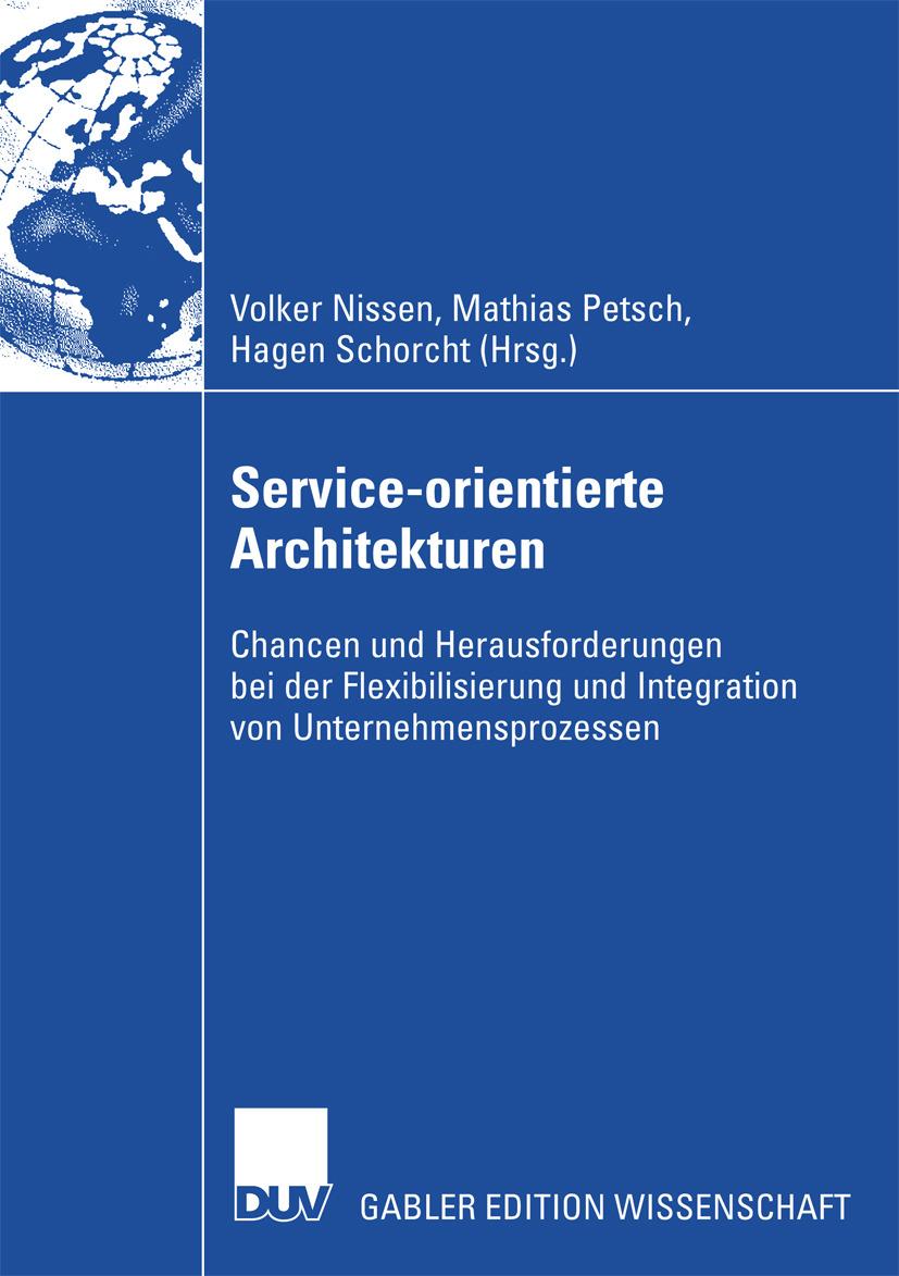 Nissen, Volker - Service-orientierte Architekturen, ebook
