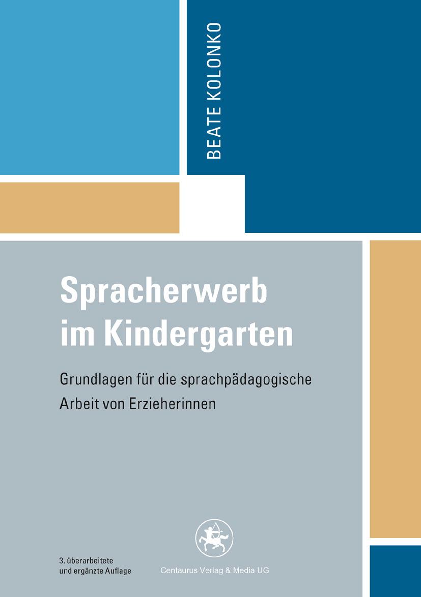 Kolonko, Beate - Spracherwerb im Kindergarten, ebook