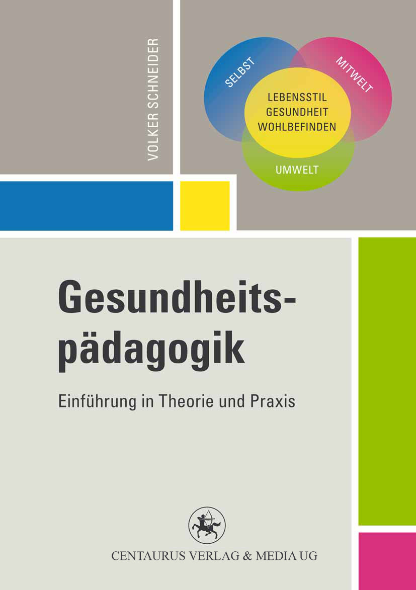 Schneider, Volker - Gesundheitspädagogik, ebook