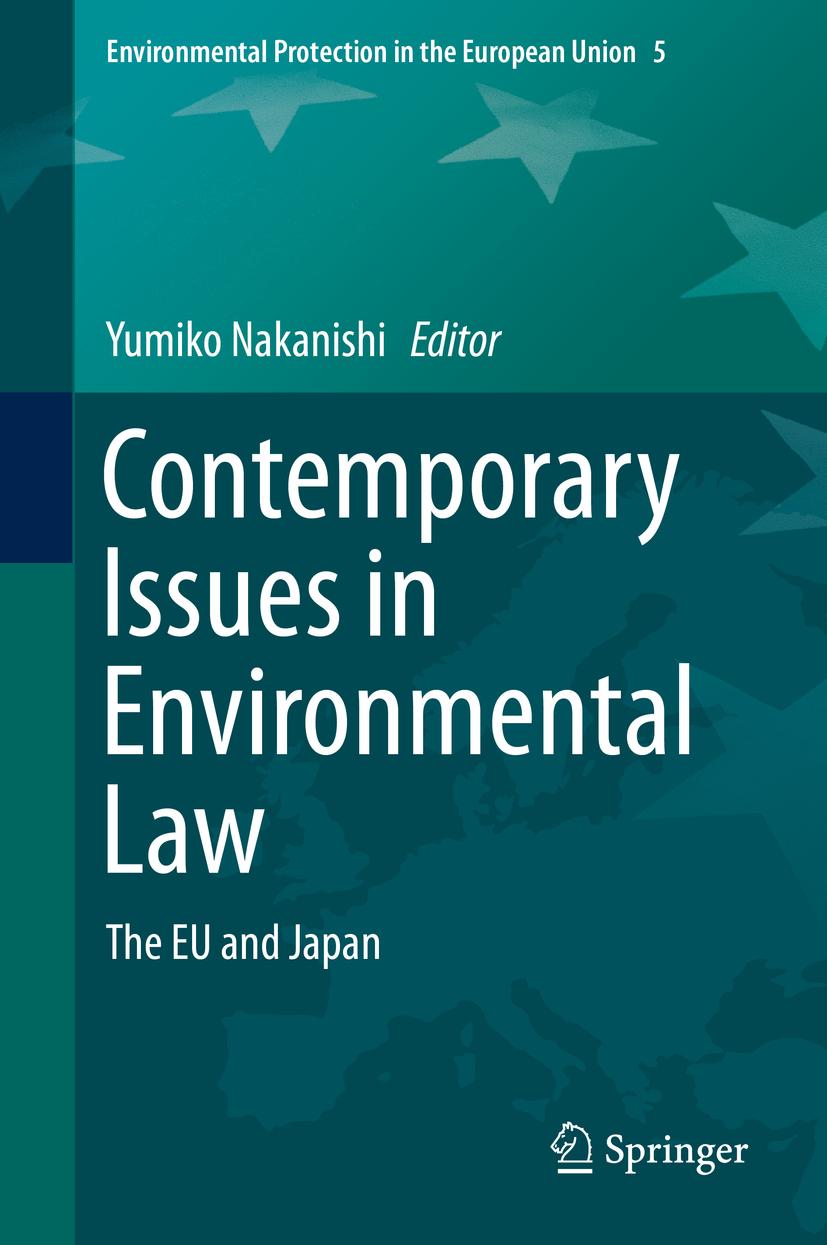 Nakanishi, Yumiko - Contemporary Issues in Environmental Law, ebook
