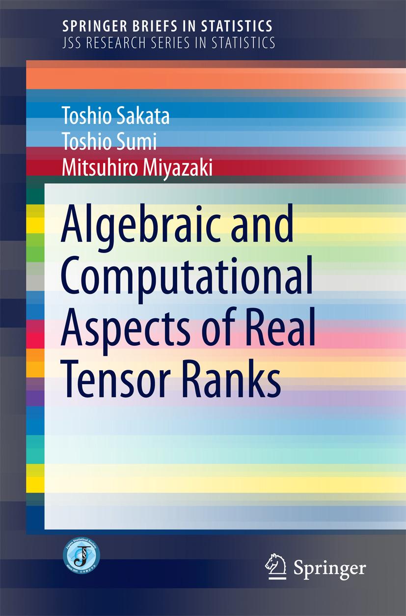 Miyazaki, Mitsuhiro - Algebraic and Computational Aspects of Real Tensor Ranks, ebook