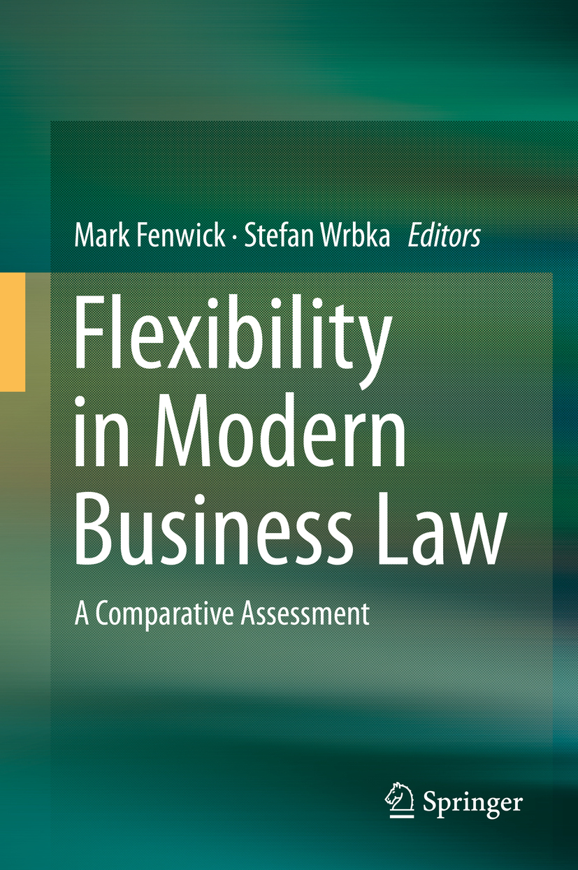 Fenwick, Mark - Flexibility in Modern Business Law, ebook
