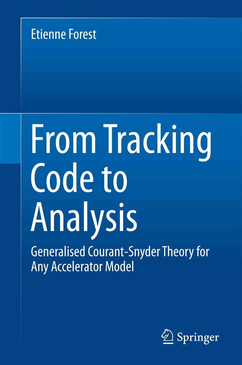 Forest, Etienne - From Tracking Code to Analysis, ebook