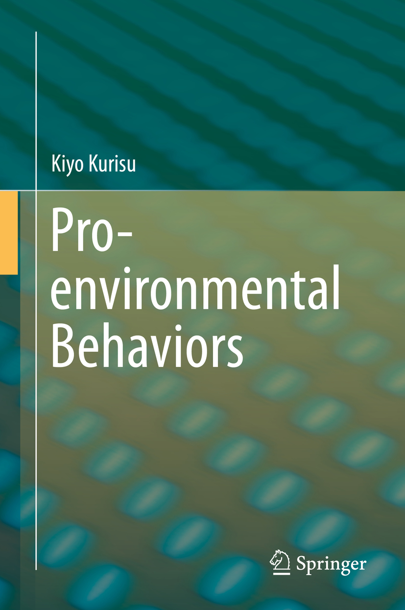 Kurisu, Kiyo - Pro-environmental Behaviors, ebook