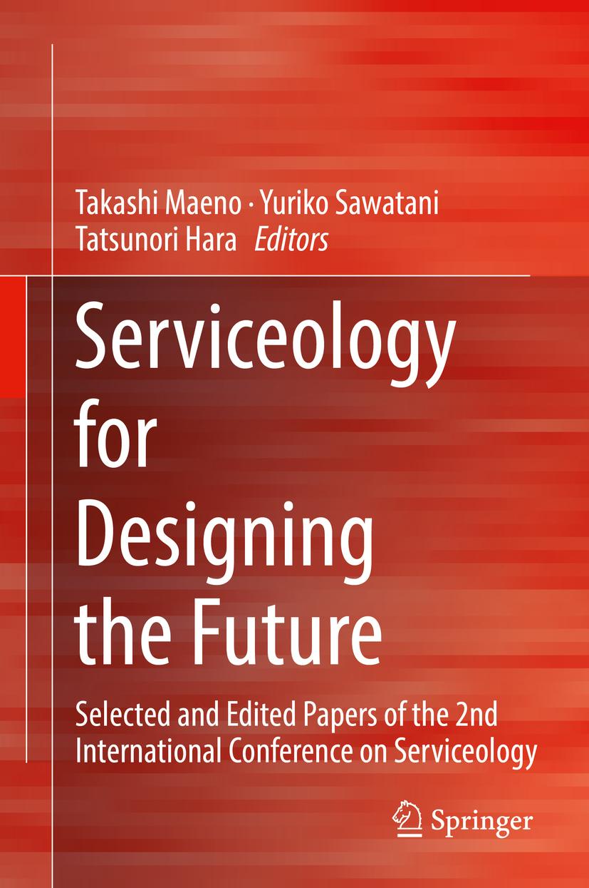 Hara, Tatsunori - Serviceology for Designing the Future, ebook