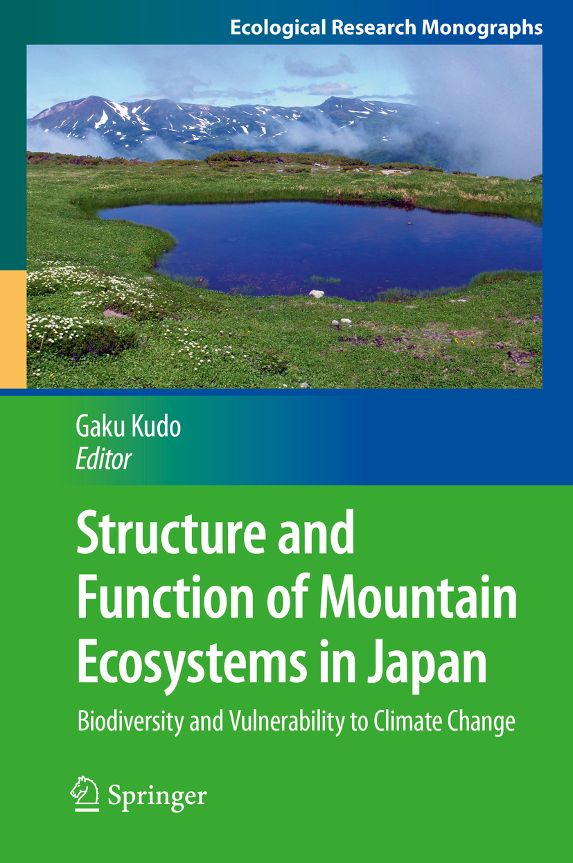 Kudo, Gaku - Structure and Function of Mountain Ecosystems in Japan, ebook