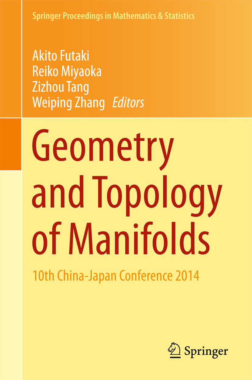 Futaki, Akito - Geometry and Topology of Manifolds, ebook