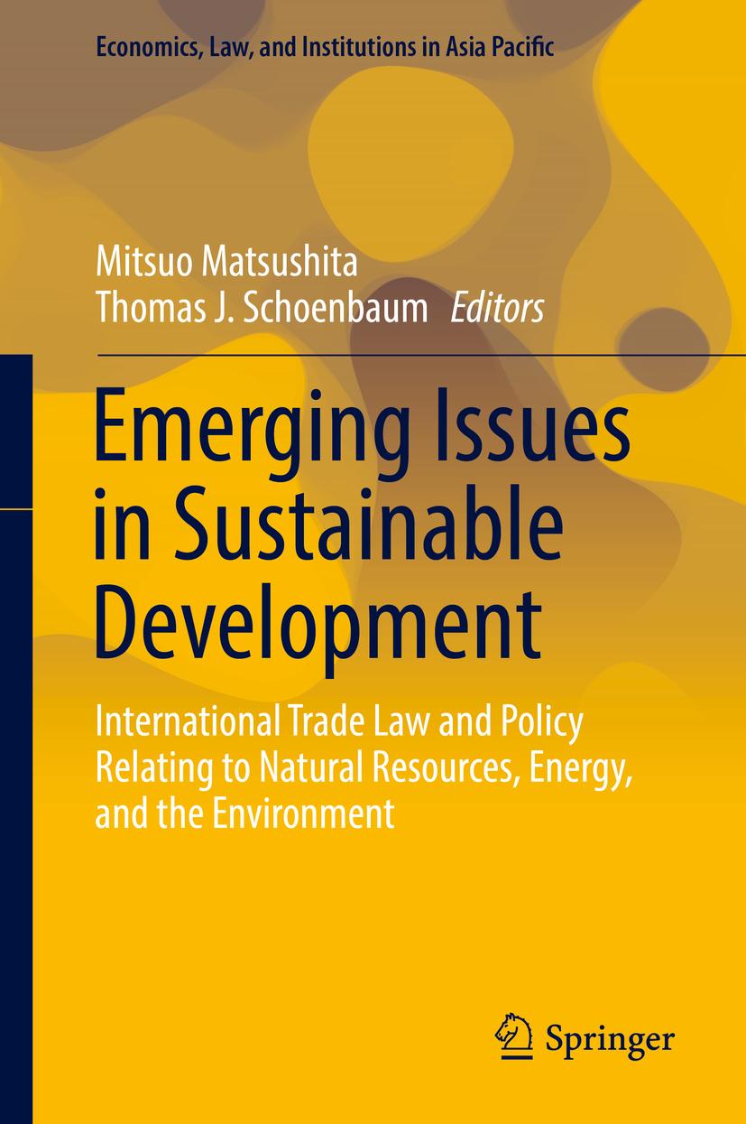 Matsushita, Mitsuo - Emerging Issues in Sustainable Development, ebook