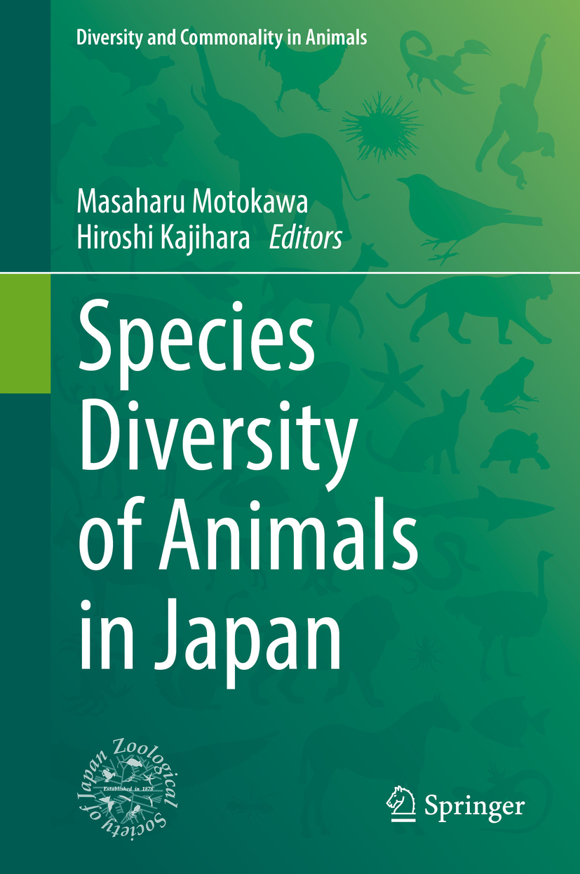 Kajihara, Hiroshi - Species Diversity of Animals in Japan, ebook