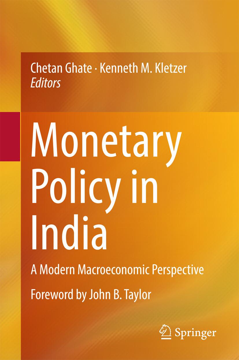 Ghate, Chetan - Monetary Policy in India, ebook