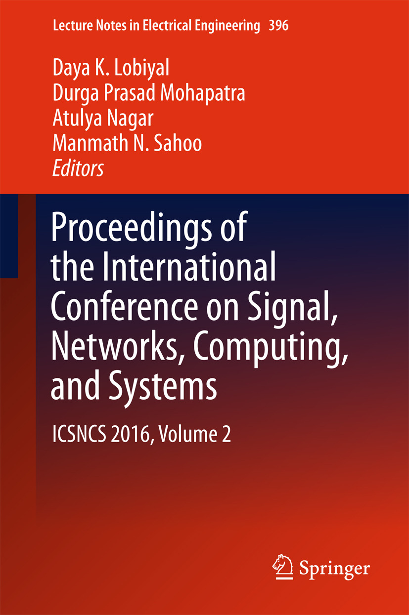 Lobiyal, Daya K. - Proceedings of the International Conference on Signal, Networks, Computing, and Systems, ebook