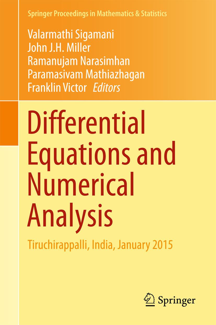 Mathiazhagan, Paramasivam - Differential Equations and Numerical Analysis, ebook