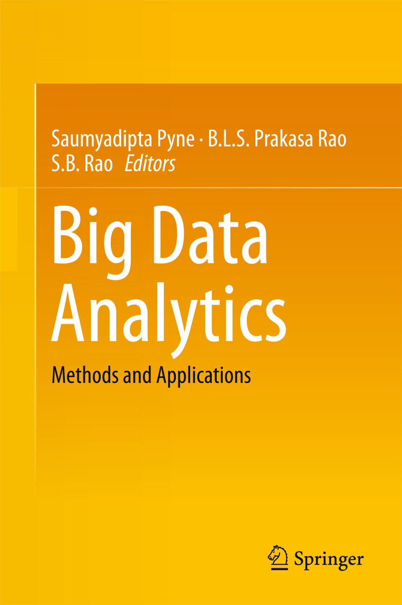 Pyne, Saumyadipta - Big Data Analytics, ebook