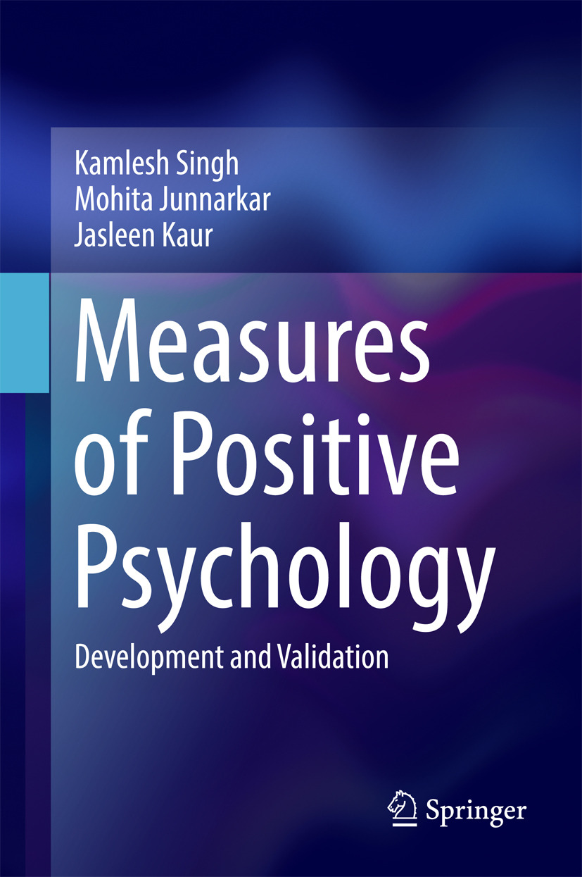Junnarkar, Mohita - Measures of Positive Psychology, ebook