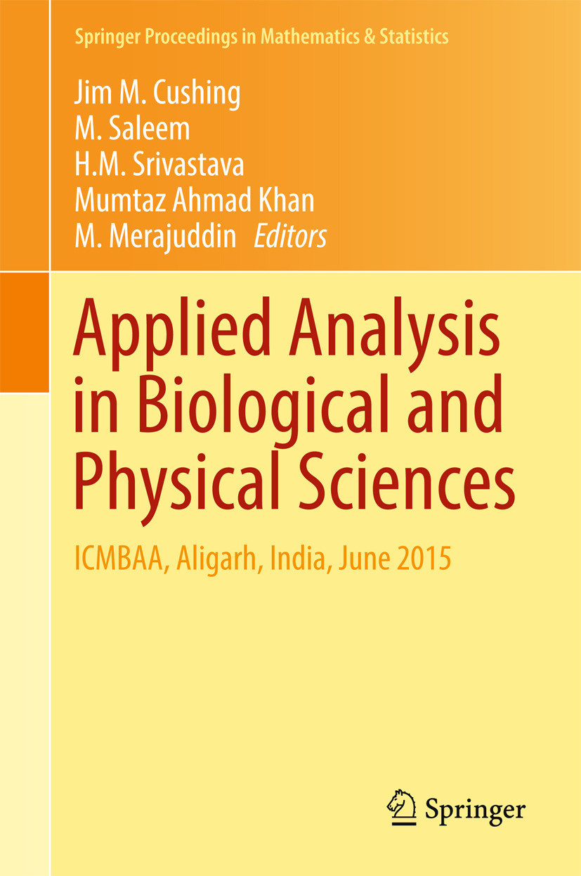 Cushing, Jim M. - Applied Analysis in Biological and Physical Sciences, ebook