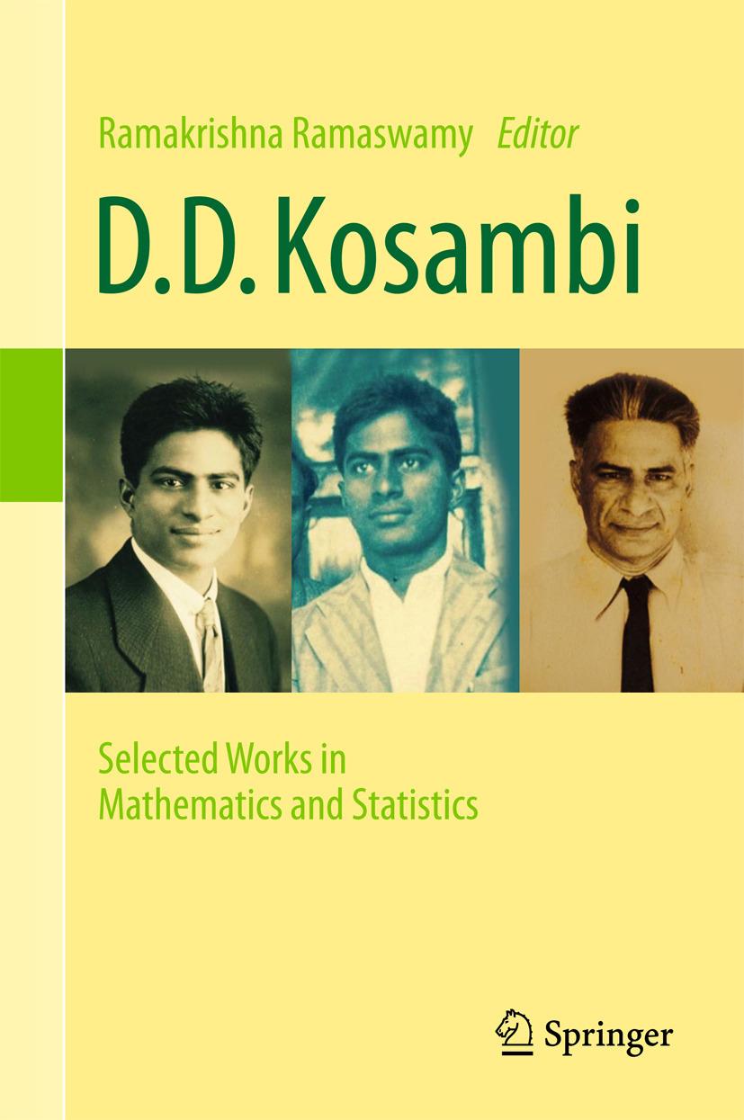 Ramaswamy, Ramakrishna - D.D. Kosambi, ebook