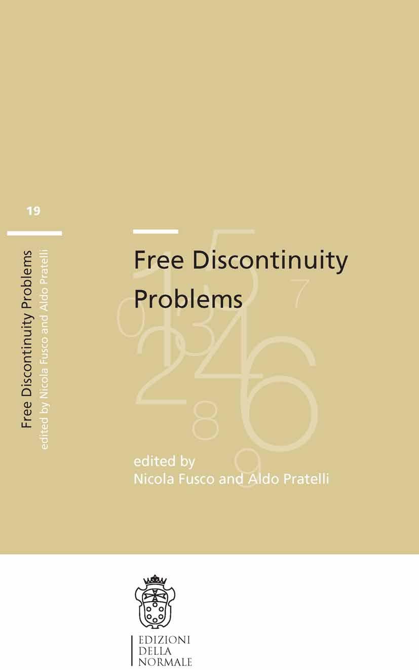 Fusco, Nicola - Free Discontinuity Problems, ebook