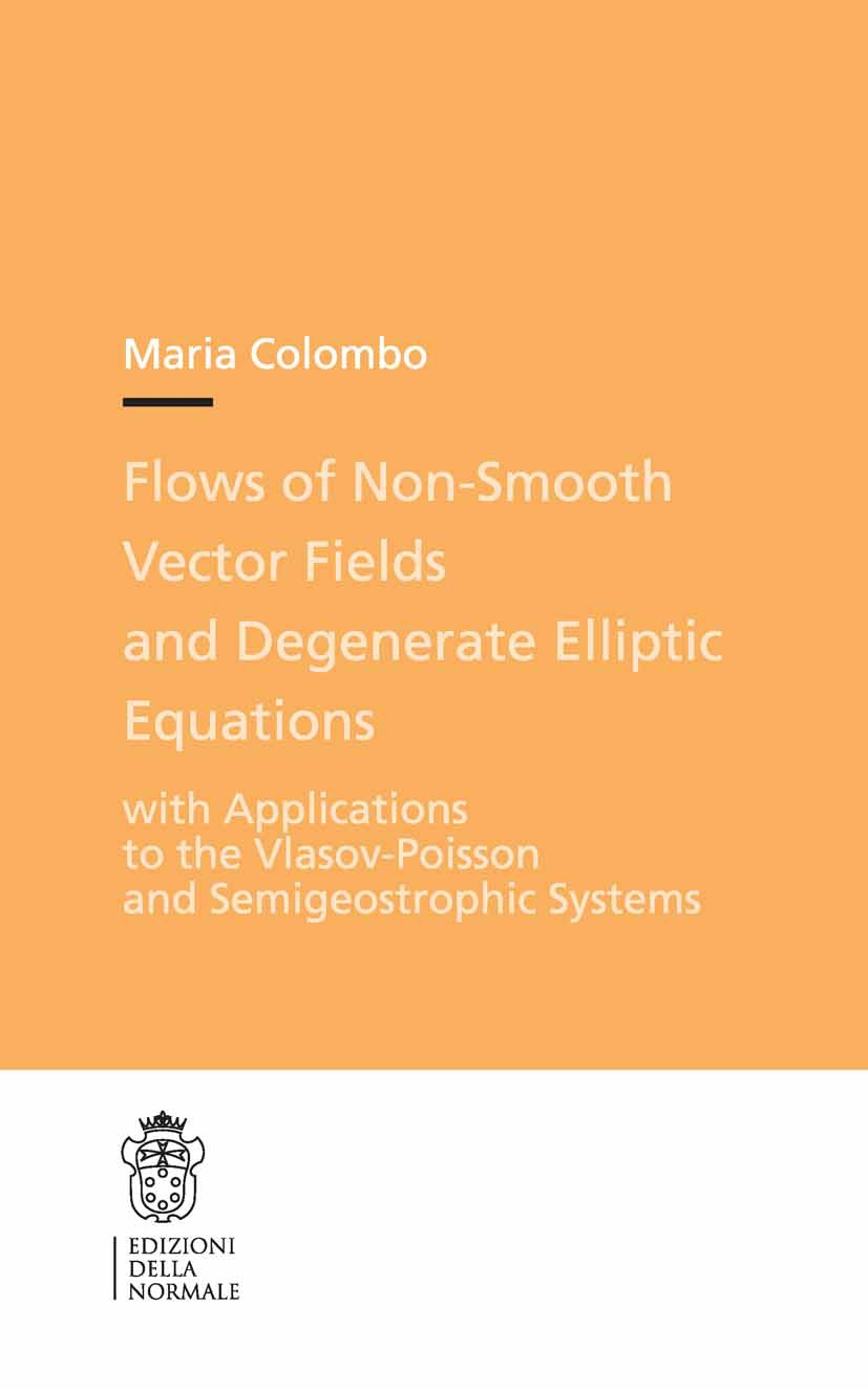 Colombo, Maria - Flows of Non-smooth Vector Fields and Degenerate Elliptic Equations, ebook