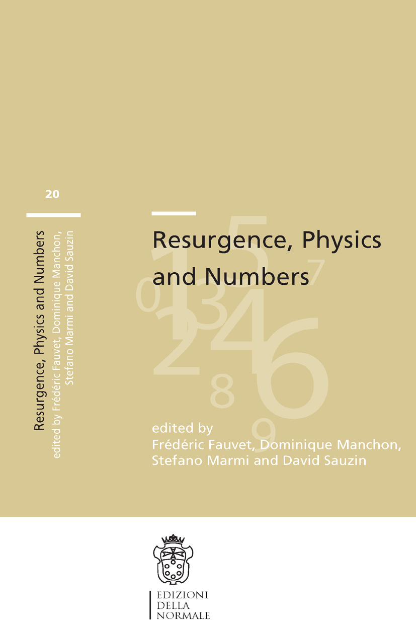 Fauvet, Frédéric - Resurgence, Physics and Numbers, ebook