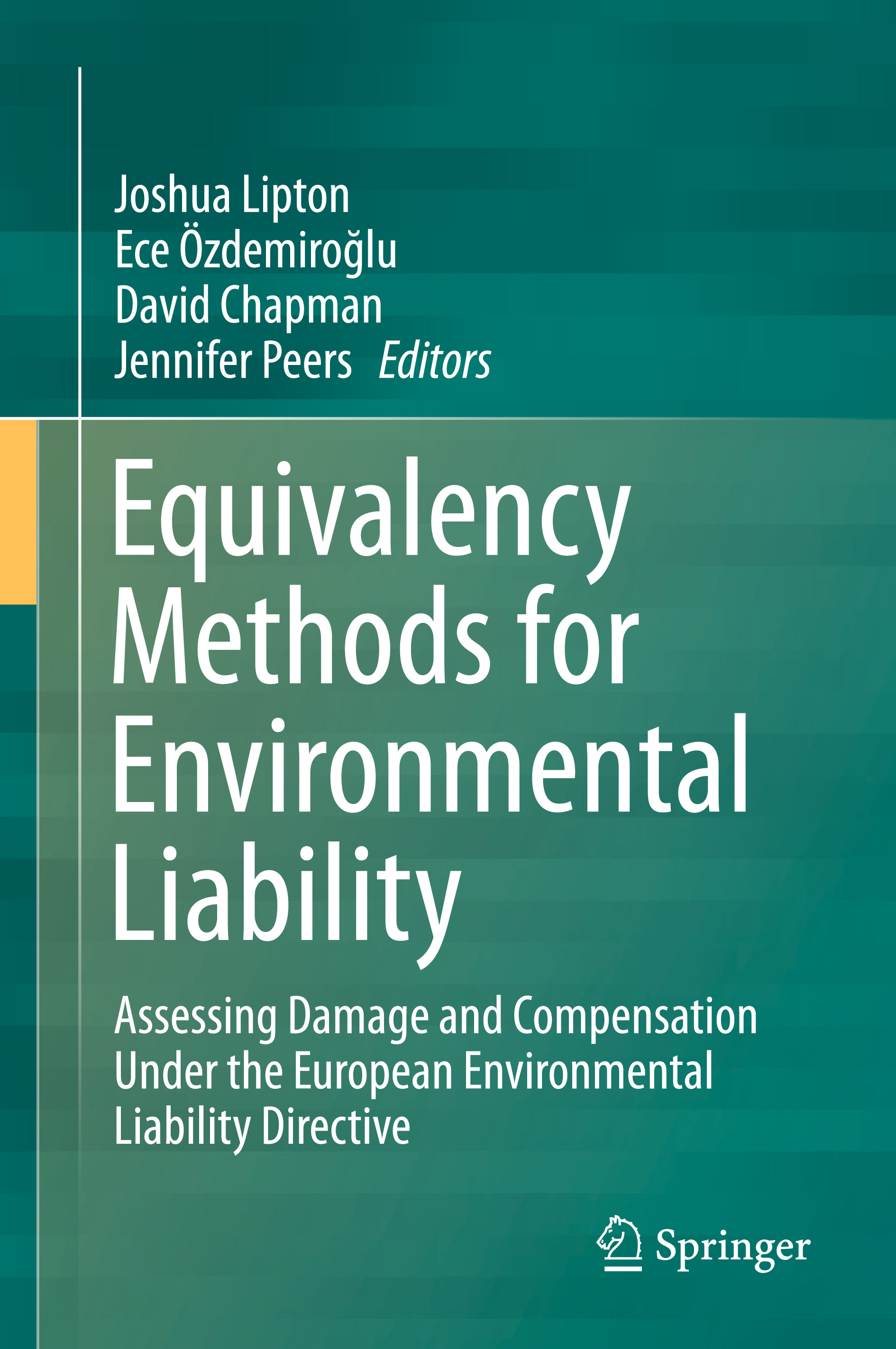 Chapman, David - Equivalency Methods for Environmental Liability, ebook