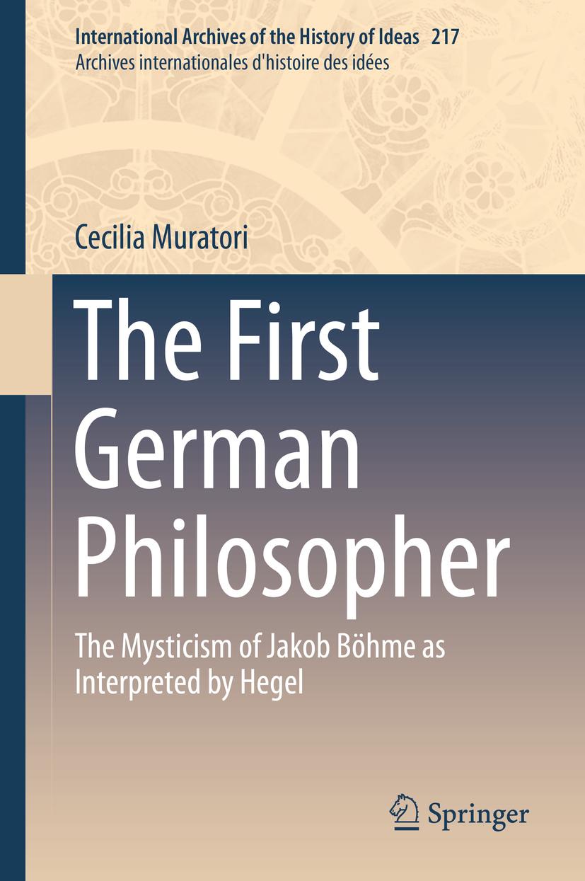 Muratori, Cecilia - The First German Philosopher, ebook