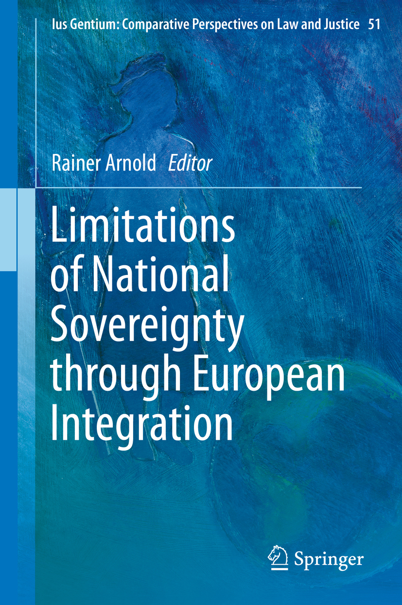 Arnold, Rainer - Limitations of National Sovereignty through European Integration, ebook