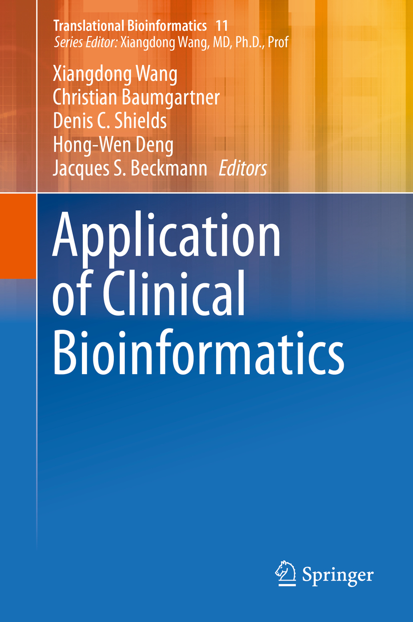 Baumgartner, Christian - Application of Clinical Bioinformatics, ebook