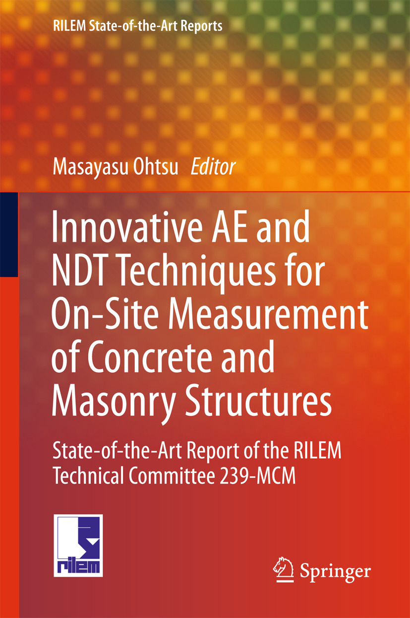 Ohtsu, Masayasu - Innovative AE and NDT Techniques for On-Site Measurement of Concrete and Masonry Structures, ebook