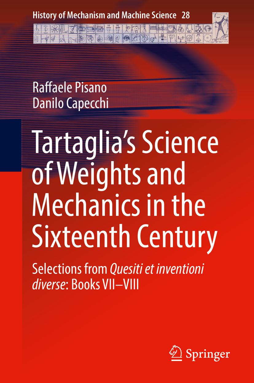 Capecchi, Danilo - Tartaglia's Science of Weights and Mechanics in the Sixteenth Century, ebook