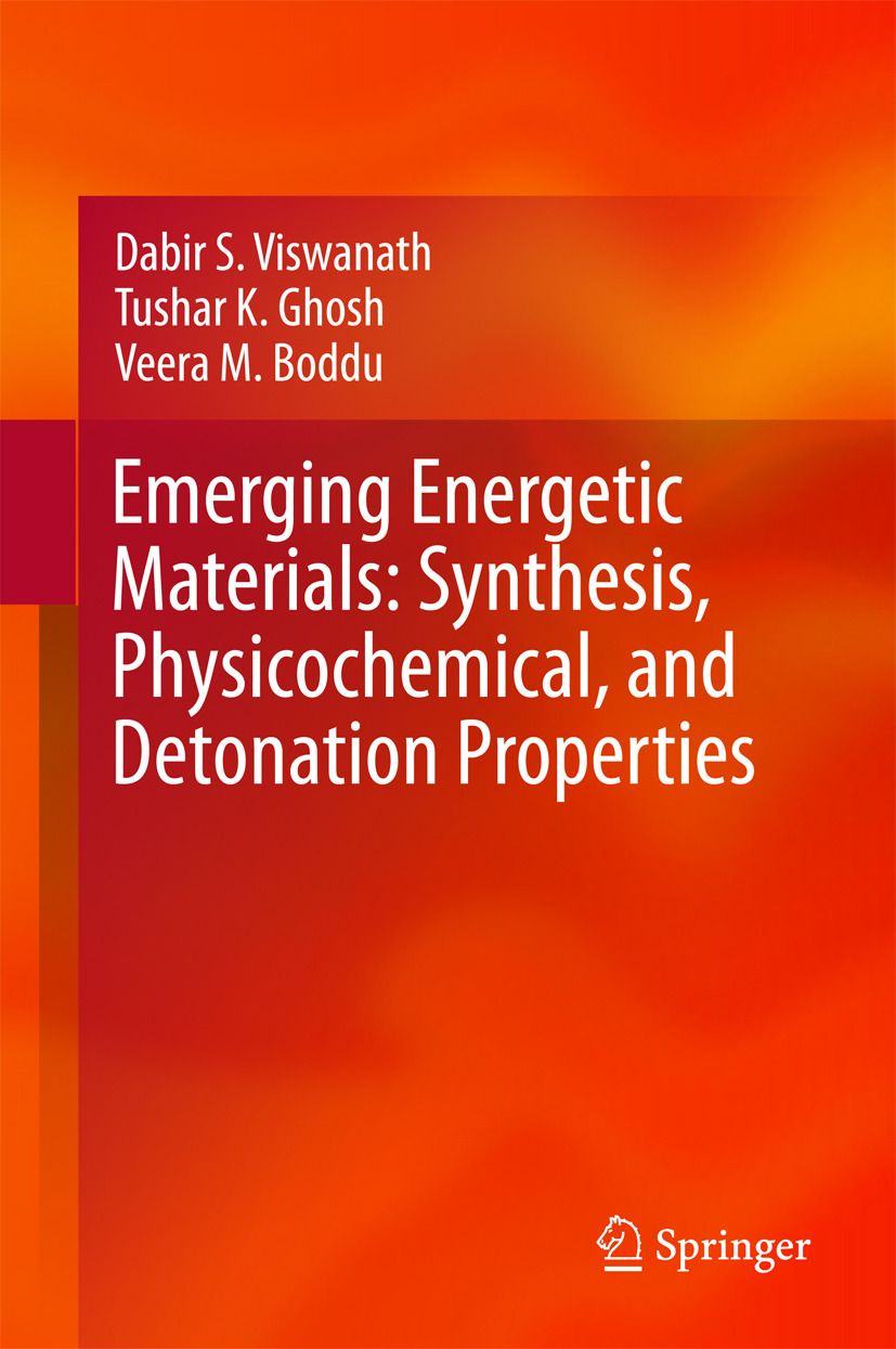 Boddu, Veera M. - Emerging Energetic Materials: Synthesis, Physicochemical, and Detonation Properties, ebook