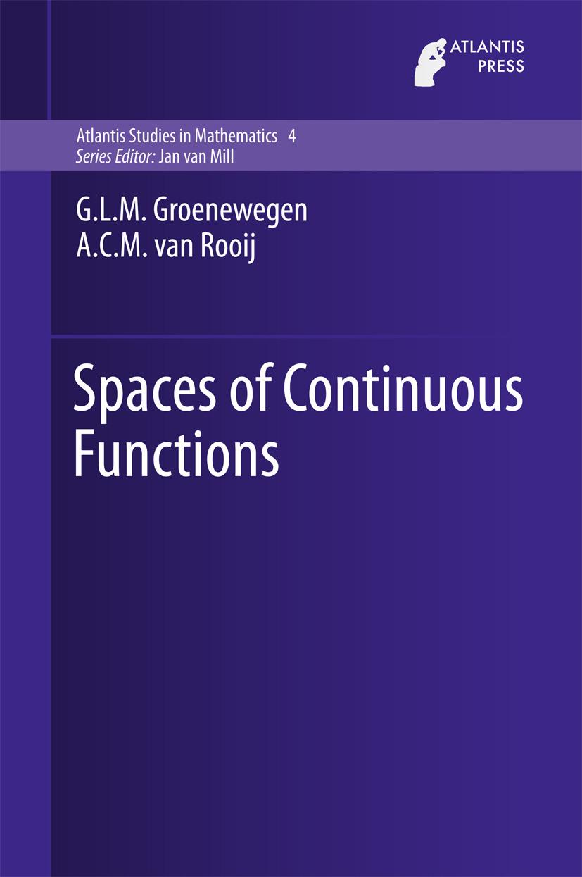 Groenewegen, G.L.M. - Spaces of Continuous Functions, ebook